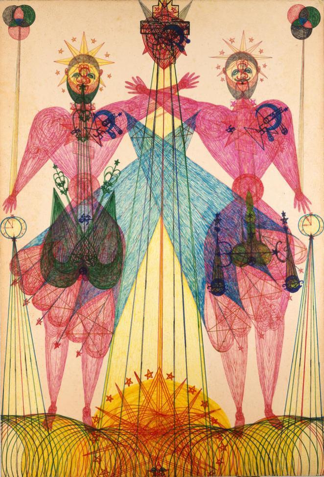 «Sans titre» (vers 1970), de Janko Domsic.