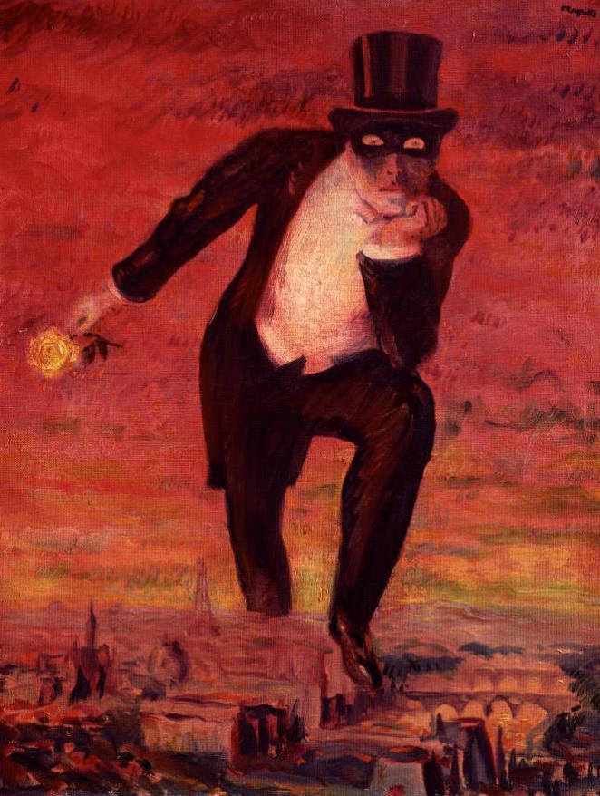 «Le Retour de flamme»(1943), de René Magritte (1898-1967), huile sur toile.
