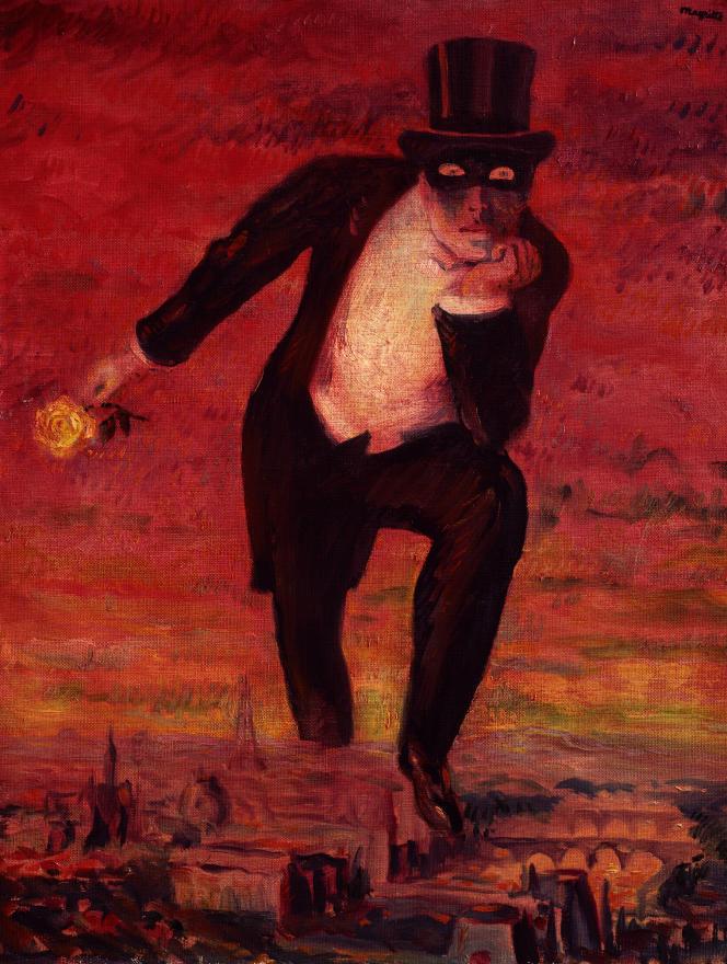 à l'Orangerie, Magritte au soleil de Georgette