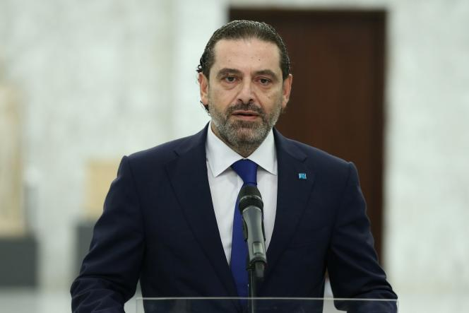 Saad Hariri, à Beyrouth, le 15 juillet 2021.