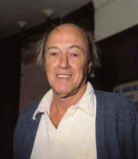 Roald Dahl, en 1983.