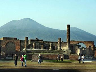 Туристы в Помпеях. Фото ©AFP