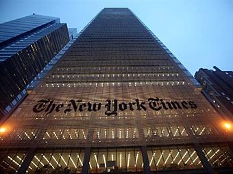 Штаб-квартира The New York Times. Фото ©AFP