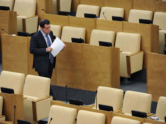Заседание Госдумы. Фото Коммерсантъ, Дмитрий Духанин