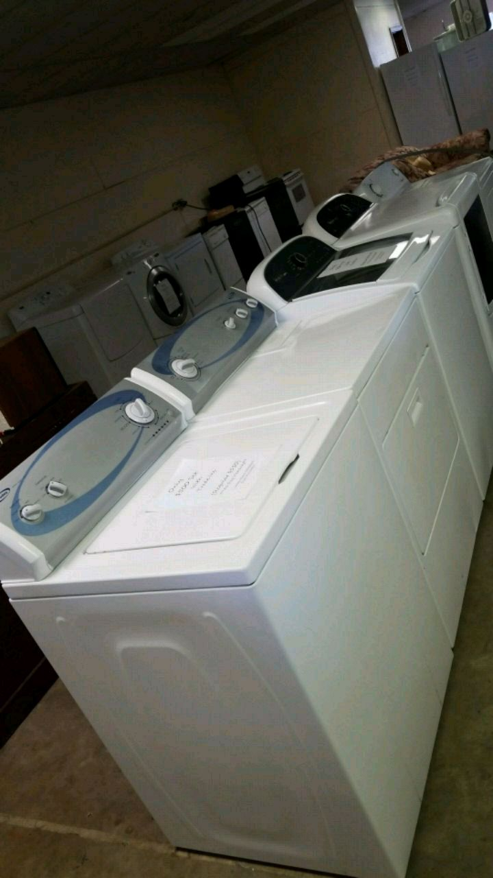 Used Five White Clothes Washers And Dryers For Sale In