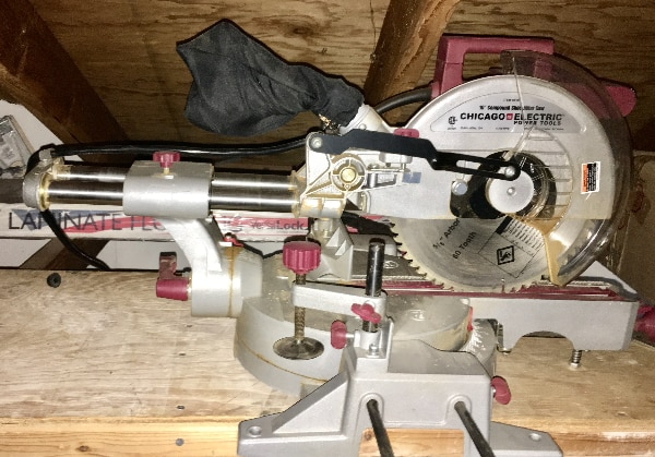 Chicago Electric 10 In Sliding Compound Miter Saw Item 98199 1 4