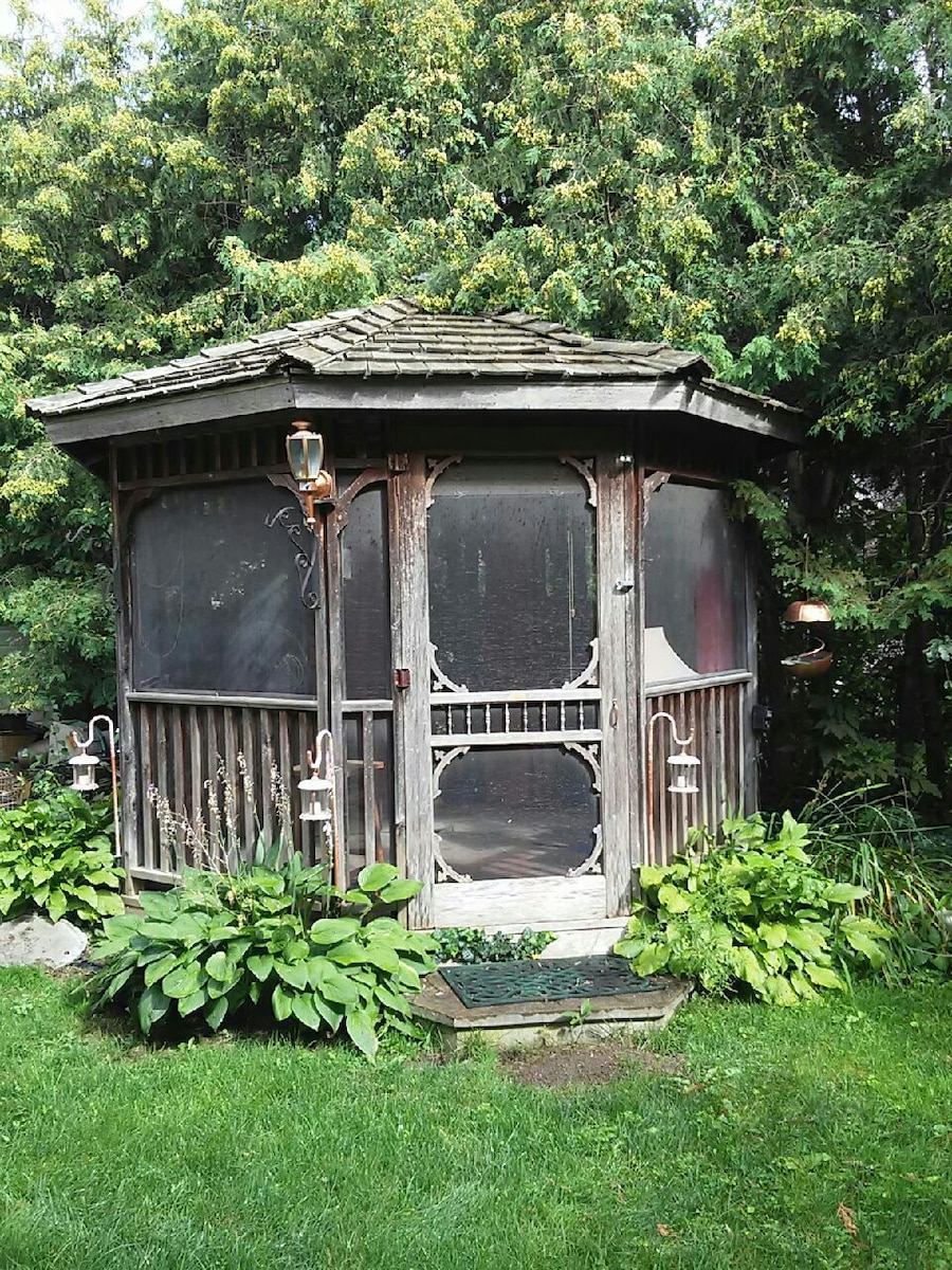 Wood Gazebo for sale | Only 4 left at -60% on Backyard Discovery Pavilion id=13826