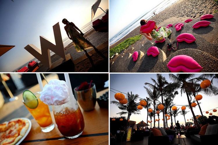 [峇里島]時尚,慵懶,從溫暖夕陽到夢幻迷離夜~W Hotel  Woo Bar