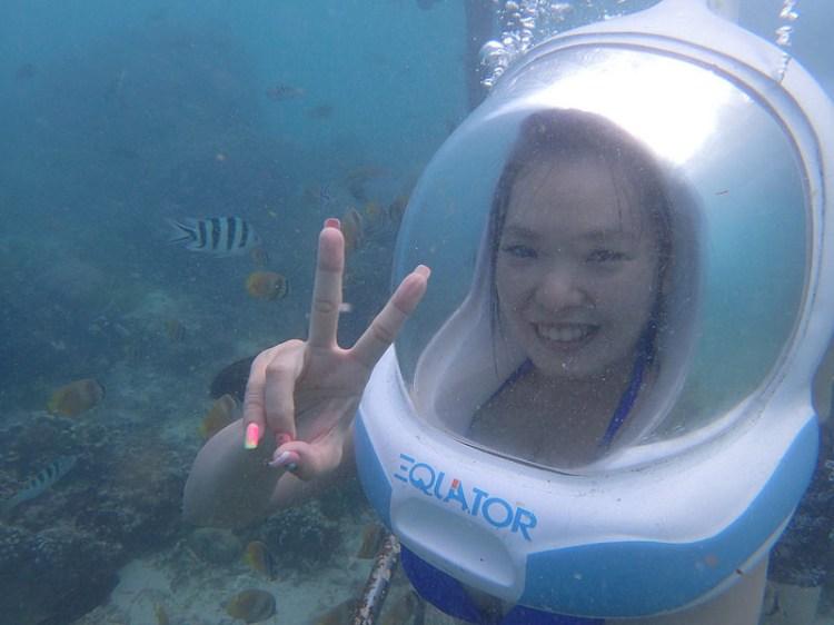 [峇里島]當個水底太空人!海底漫步與魚共舞~藍夢島(LEMBONGAN)水上活動