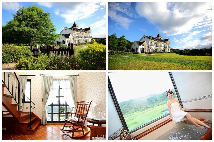 [花蓮壽豐]座落於花東縱谷中的美麗城堡!windows桌布般的壯闊美景,花蓮壽豐絕美秘境!~薩爾茲堡莊園