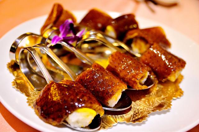 [宜蘭市]皮脆油豐櫻桃鴨~蘭城晶英紅樓中餐廳