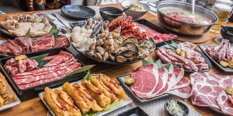 [台北內湖]專人桌邊服務,網友激推超精緻帝王蟹燒肉吃到飽!帝一頂級燒烤吃到飽