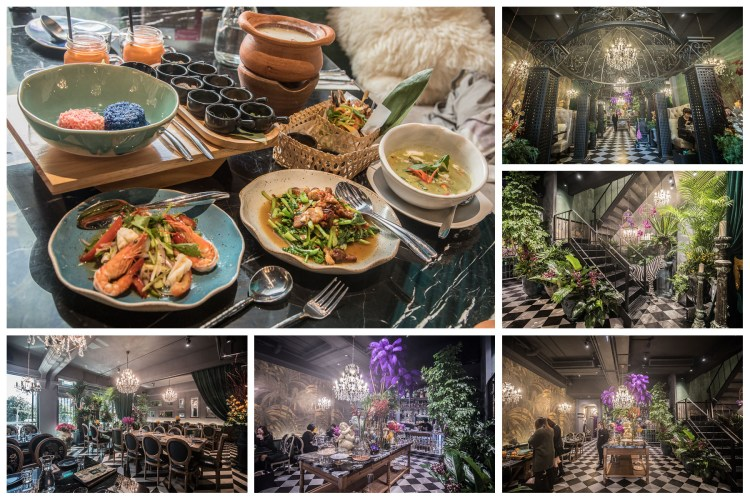 [桃園市]桃園泰式料理推薦,網美必訪!桃園最美的泰式料理餐廳!Thai J 泰式料理餐廳-桃園南平店