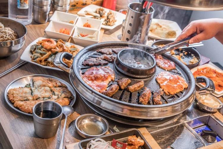 [台北內湖]韓式燒肉吃到飽推薦,內湖最強韓式燒肉,最低398元吃到飽啦!小豬樂石韓式烤肉東湖店