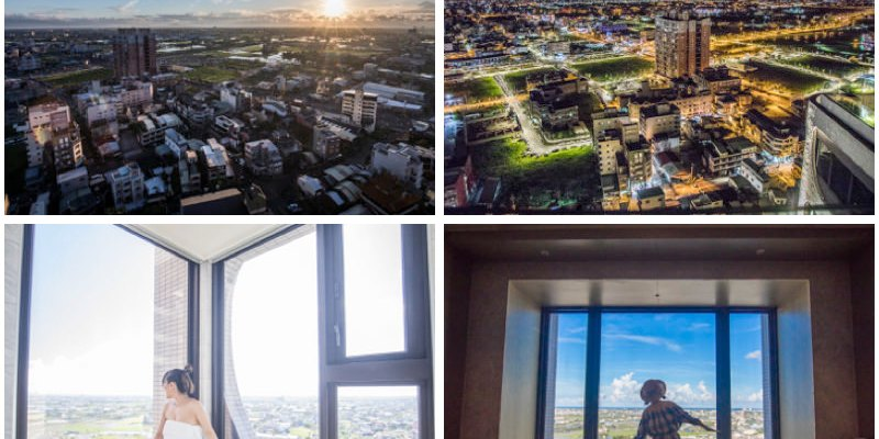 [宜蘭礁溪]羅東飯店推薦,羅東五星級飯店,在房間就可以看到宜蘭百萬夜景!村却國際溫泉酒店