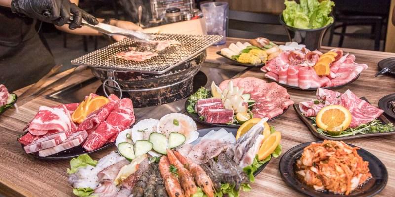 [基隆美食]基隆燒肉吃到飽推薦!媲美單點品質的平價吃到飽燒肉!月桂炭火燒肉
