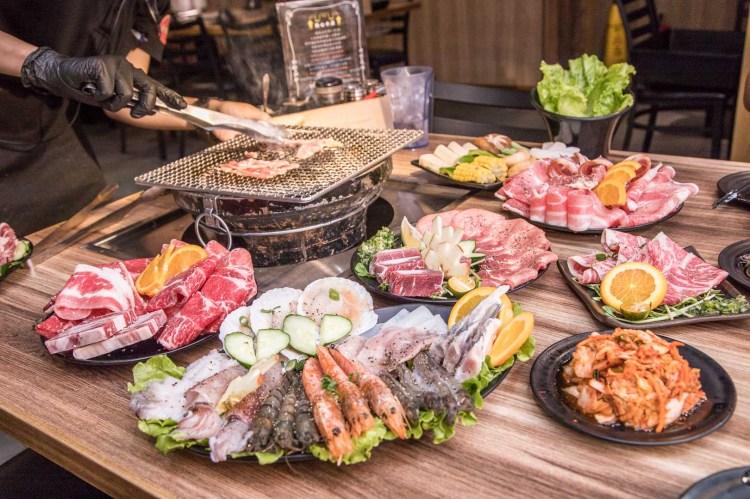 [基隆市]基隆燒肉吃到飽推薦!媲美單點品質的平價吃到飽燒肉,外加啤酒暢飲!月桂炭火燒肉