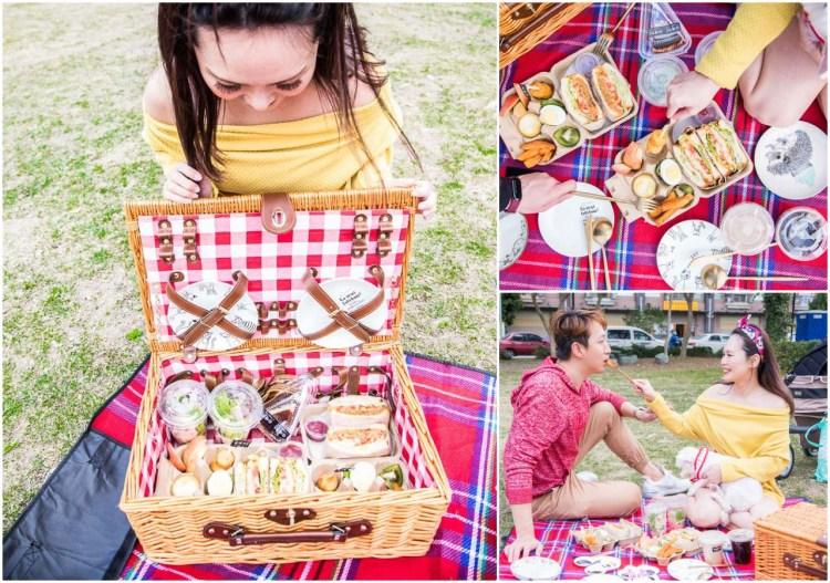 [桃園市]外帶野餐省時省力!浮誇網美系超美味外帶野餐籃!放慢腳步雙人野餐籃