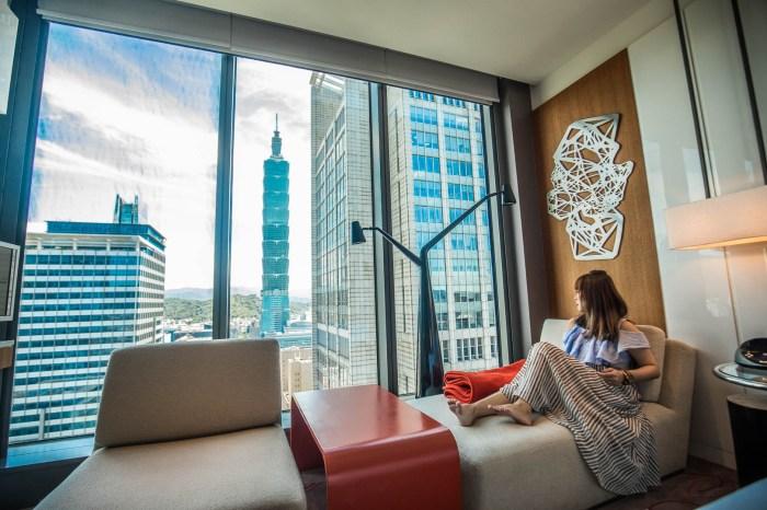 [台北住宿]台北W飯店/W Hotel Taipei/跨年夜一晚要價八萬的套房!台北時尚奢華飯店朝聖!