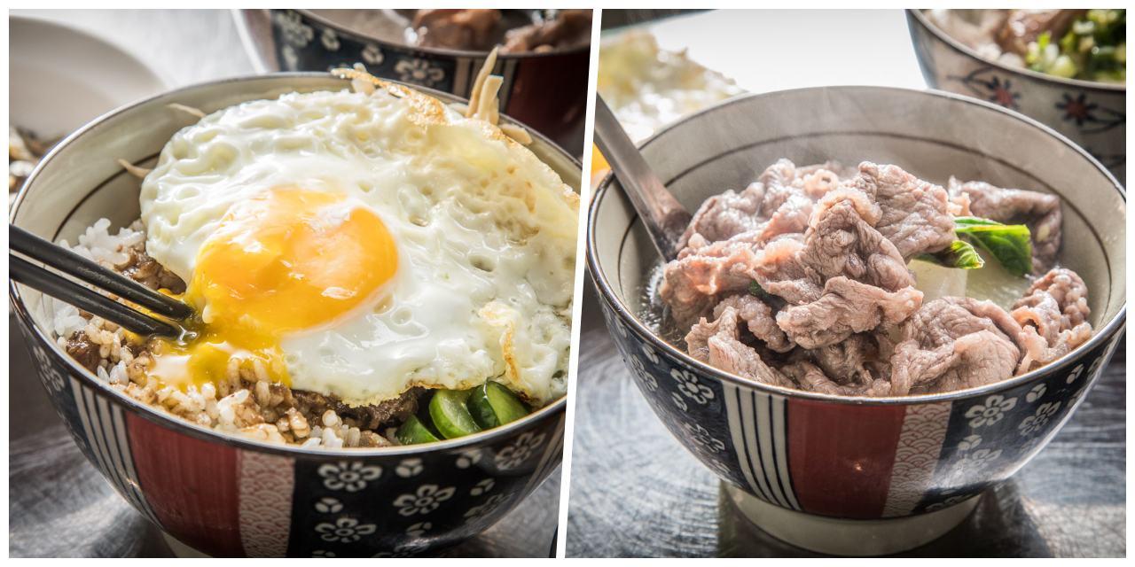 [台北美食]台北最強悍牛肉肉燥飯,三不五時就被客人清空飯鍋,搭配鮮涮牛肉湯,根本神組合!
