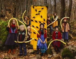 Волшебная фотосессия Leya.me в сказочном лесу