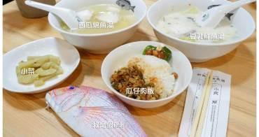 【台南中西區-美食】台南老饕店|豆乳魚湯|前身是鱻魚湯|林百貨美食|不加鹽就鮮甜無比 ~ 和興號鮮魚湯