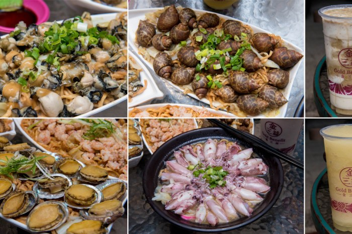 【臺南美食】不退流行的浮誇系美食 放好放滿的海鮮意麵 老闆對於新鮮度和品質要求 冰沙系列必喝~~金三益健康茶飲