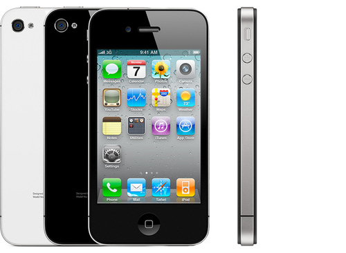Ten years ago: iPhone 4. The first flat iPhone.  Photo courtesy of Apple.