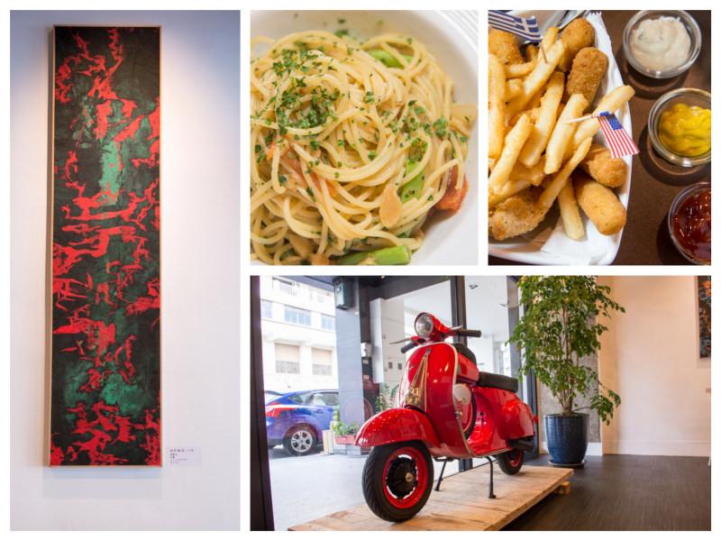 台中》Art Cafe & Pasta –  白天咖啡館 晚上變身酒吧