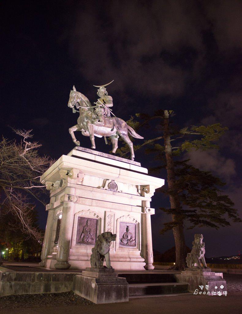 日本景點推薦》仙台青葉城跡 – 飽覽仙台夜景