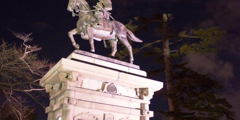 日本景點推薦》仙台青葉城跡 - 飽覽仙台夜景