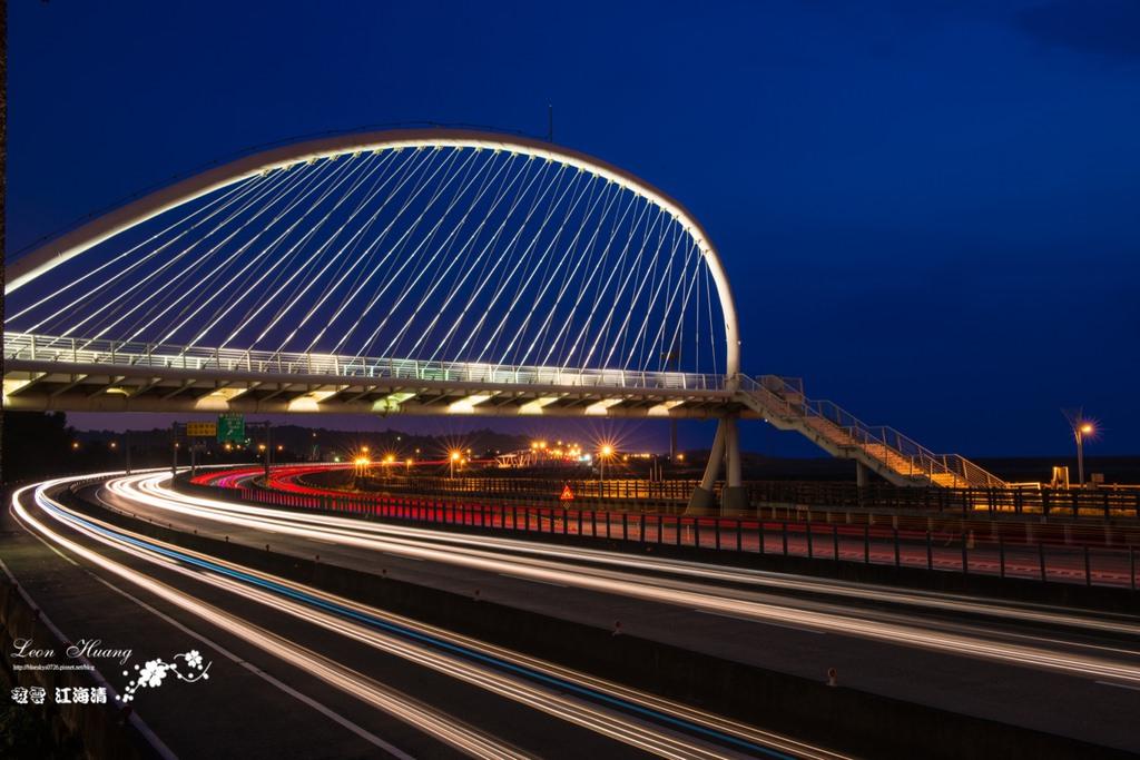 新竹夕陽點堆建》豎琴橋 – 天使遺落在凡間的豎琴