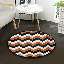 https www lionshome fr accessoires tapis rond orange