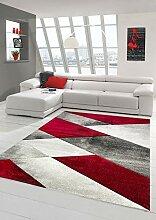 https www lionshome fr accessoires tapis de salon rouge gris