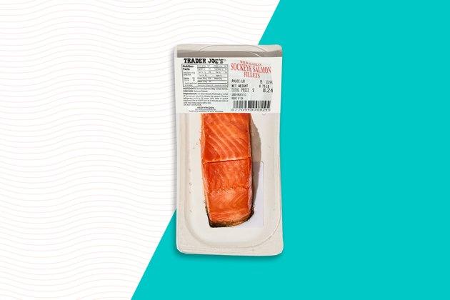 Frozen Sockeye Salmon Fillets Trader Joe's Frozen food