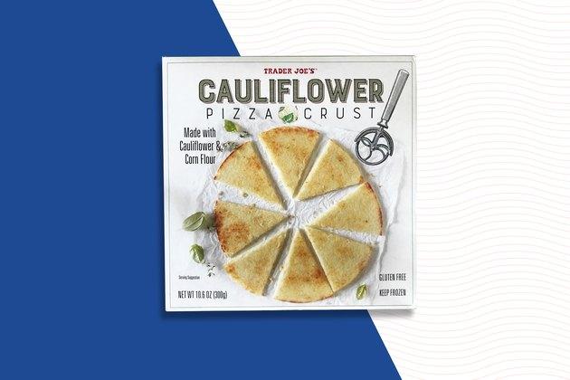 Cauliflower Pizza Crust Trader Joe's Frozen food