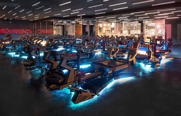 Lagree Fitness Studio full of Megaformer machines