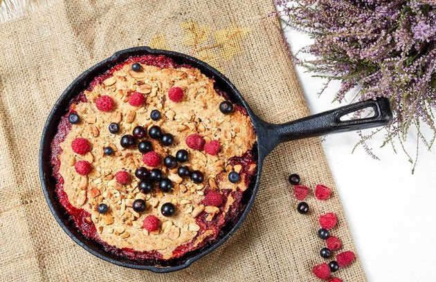 Steel-Cut Oatmeal Berry Breakfast Bake blueberry breakfast recipes