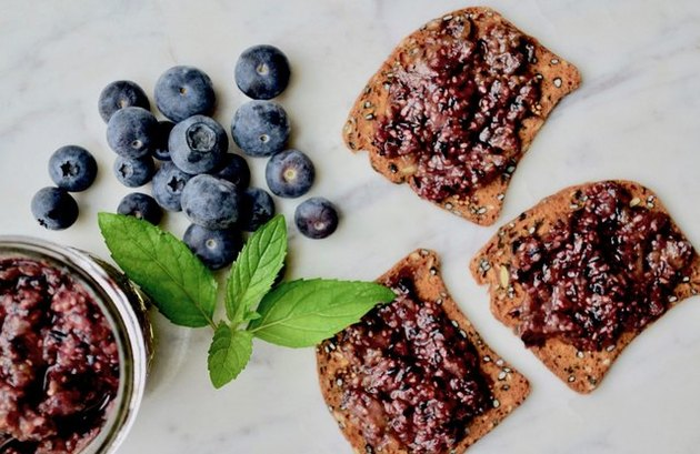Blueberry Chia Jam blueberry breakfast recipes