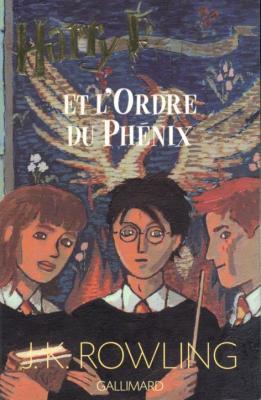 Couverture Harry Potter et l'ordre du Phoenix de J. K. Rowling