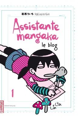 Couverture Assistante mangaka : Le blog, tome 1