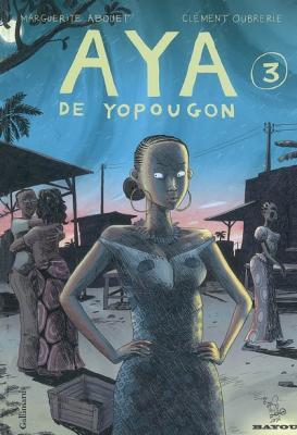 Couverture Aya de Yopougon, tome 3