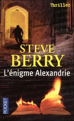 Couverture L'énigme Alexandrie de Steve Berry