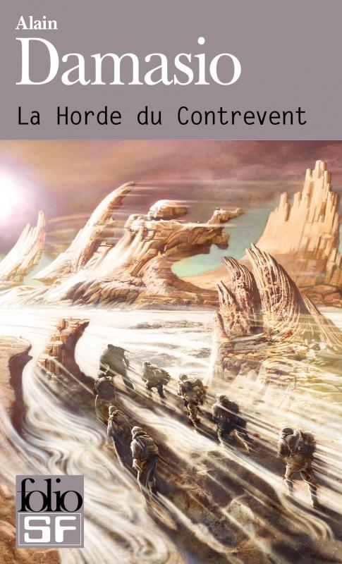 Couverture La horde du Contrevent Editions Folio (SF) 2014