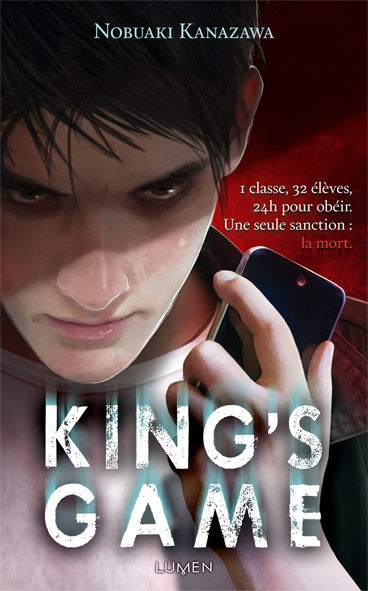 Couverture King's Game (roman), tome 1