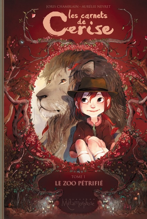 Couverture Les carnets de Cerise de Joris Chamblain et Aurélie Neyret