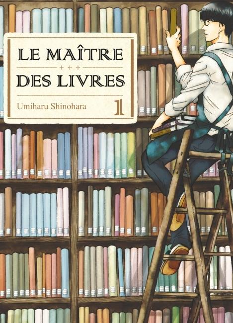Couverture Le maître des livres, tome 01