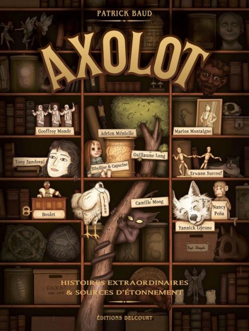 """Couverture """"Axolot"""" de Patrick Baud"""