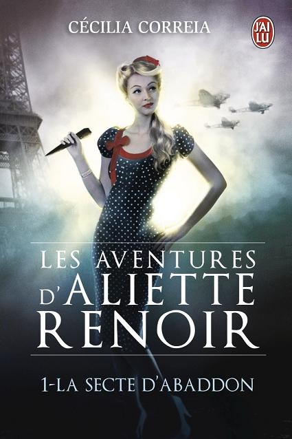 Couverture Les aventures d'Aliette Renoir, tome 1 : La secte d'Abaddon