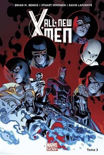 Couverture « All-New X-Men (Marvel Now), tome 3 : X-Men vs. X-Men» de Brian Michael Bendis, Stuart Immonen et David Lafuente